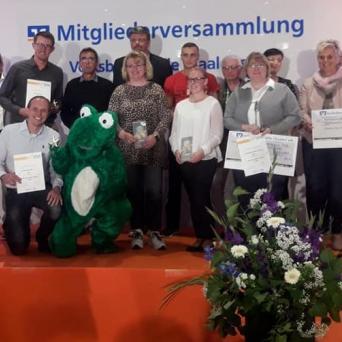 """Projekt """"Die wilden Frösche"""" erhält Stern des Sports"""