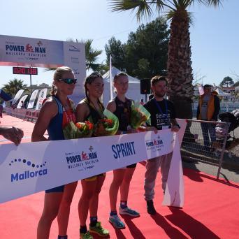 Bianca und Rico Bogen mit Doppelsieg beim Duathlon auf Mallorca 2019