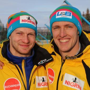 Thorsten Margis mit Gold im Zweierbob beim WC in Calgary (Kanada)