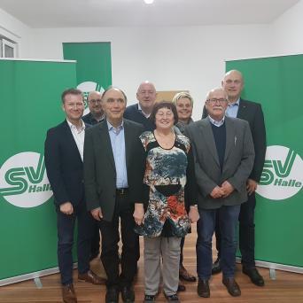 Delegiertenversammlung des SV Halle am 25.03.2019 - Präsidium