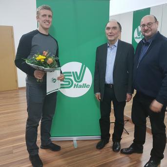 Delegiertenversammlung des SV Halle am 25.03.2019 - Thorsten Margis