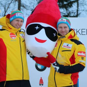 Schüller und Friedrich gewinnen Weltcuprennen in La Plagne