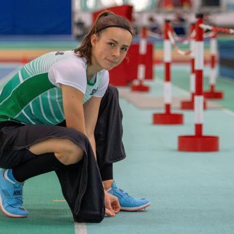 Mitteldt. Mehrkampfmeisterschaften U20 in Halle 2020 - Lucie Kienast