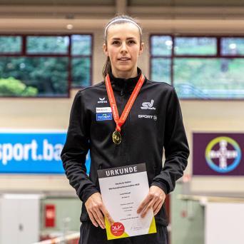 Kienast gewinnt bei den Deutschen Meisterschaften U20 in Leverkusen