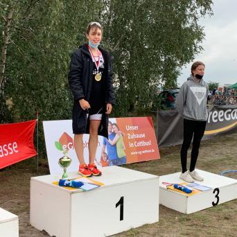 Pauline Feußner gewinnt die offenen Mitteldeutschen Meisterschaften 2020