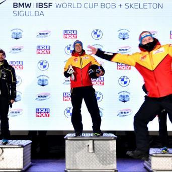 Thorsten Margis mit zweiten Sieg in Folge beim WC in Sigulda 2020