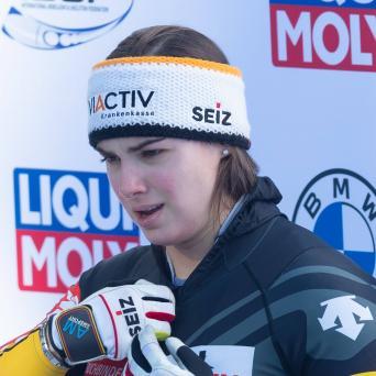 Kim Kalicki auf Platz 6 im Monobob bei der WM in Altenberg 2021