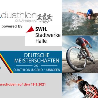 SV Halle Triathlon 2021 - Verschiebung auf den 19.09.2021