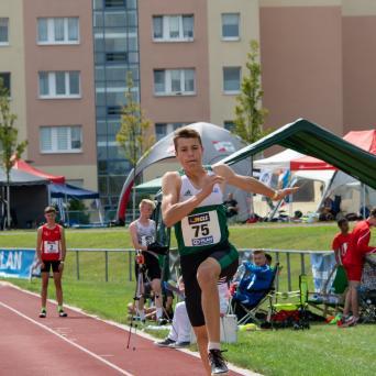 4. Platz für Henry Lennox Heilmann bei den Deutschen Mehrkampfmeisterschaften U16