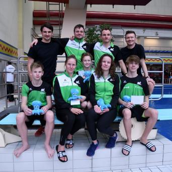 46. Hallorenpokal im Wasserspringen in Halle 2019