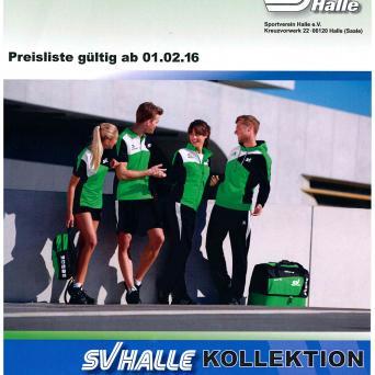 SV Halle - Kollektion 2016/2017