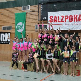 16. Salzpokal der Gymnastinnen 2019 in Halle (Saale)
