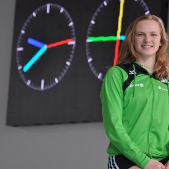 Lena Riedemann mit zahlreichen Erfolgen bei den NDM 2019 in Magdeburg