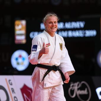 Luise Malzahn belegt Platz 5 beim Grand-Prix in Tel Aviv