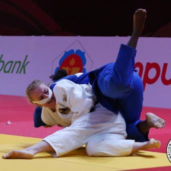 Luise Malzahn gewinnt Silber beim Grand-Slam in Jekaterinburg 2018