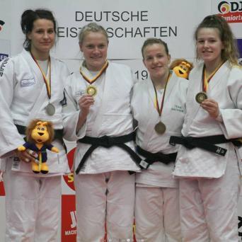 Luise Malzahn wird zm fünften Mal Deutsche Meisterin 2019 in Stuttgart
