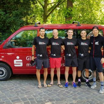 Erster Saisonsieg der SV Halle-Triathleten in der 2. Bundesliga in Eutin