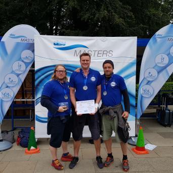 Masters-Wasserballer vom SV Halle werden Deutscher Vizemeister 2019