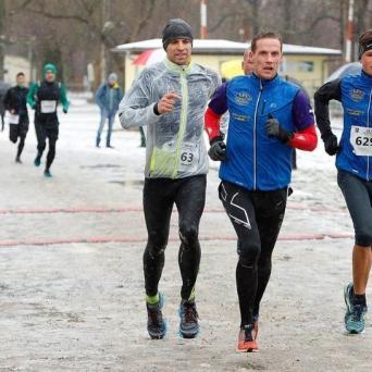Rico Bogen beim 23. Leipziger Stadtwinterlauf 2019