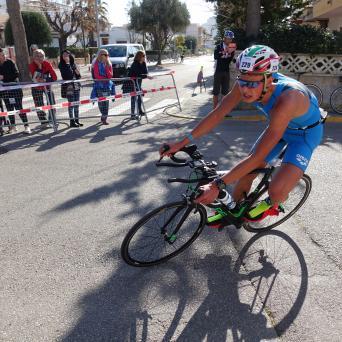 Rico Bogen beim Power-Duathlon 2019 auf Mallorca