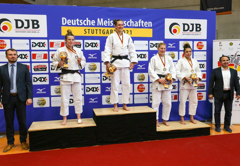 DM-Gold für unsere SV-Halle-Judoka Teresa Zenker